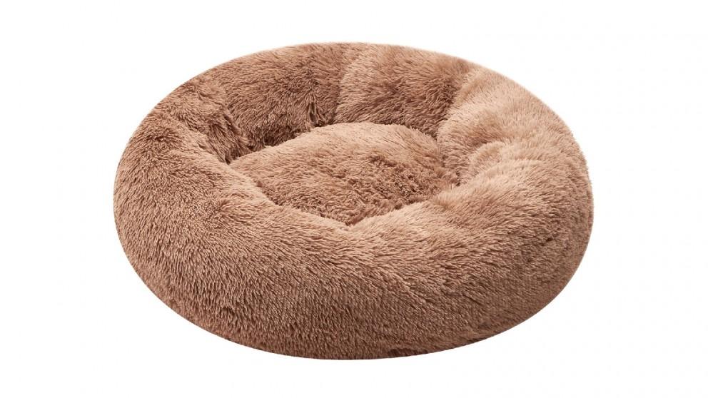 Cooper & Co. Pet 60cm Mini Round Soothing Pet Bed - Latte