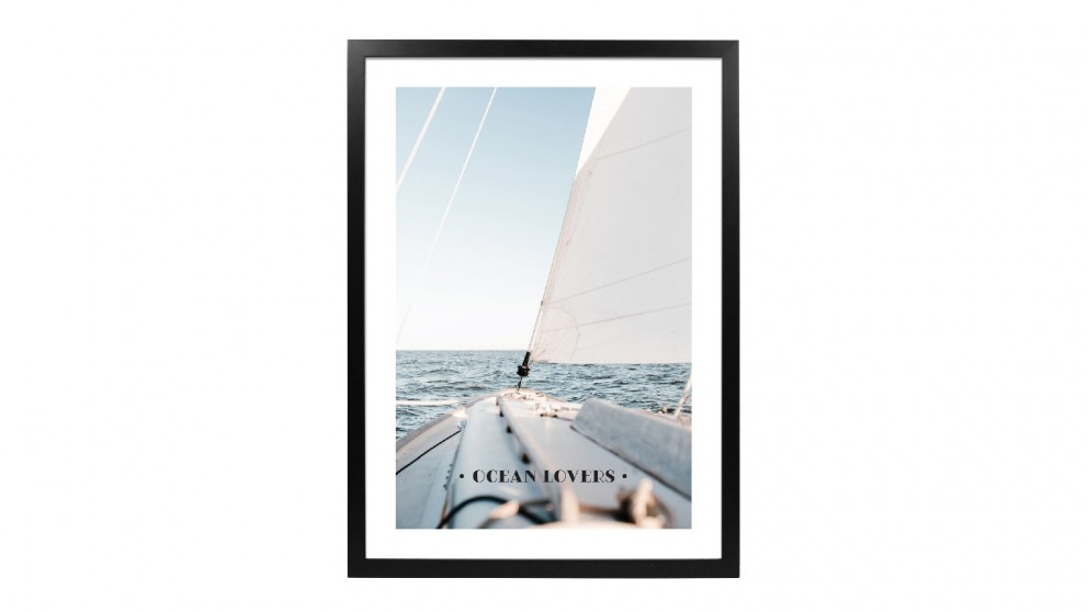 Profile Products Framed Art - Oceans Lovers Club 1 - 78x103 cm