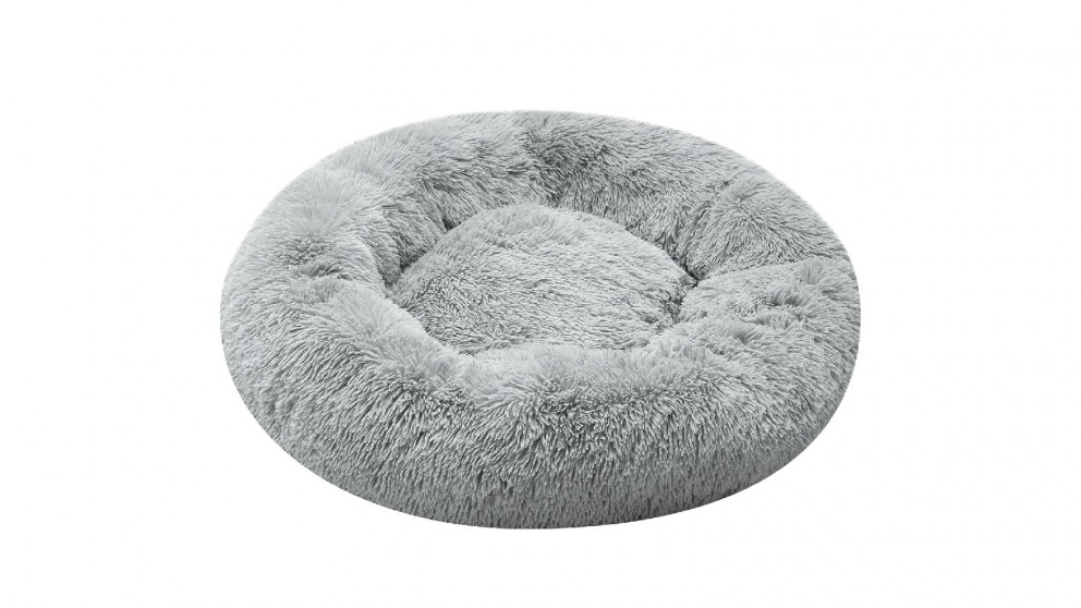 Cooper & Co. Pet 60cm Mini Round Soothing Pet Bed - Grey