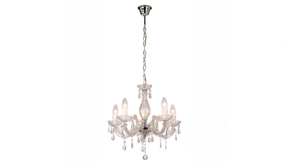 Lexi Lighting La Spezia Acrylic Chandelier Light - Clear