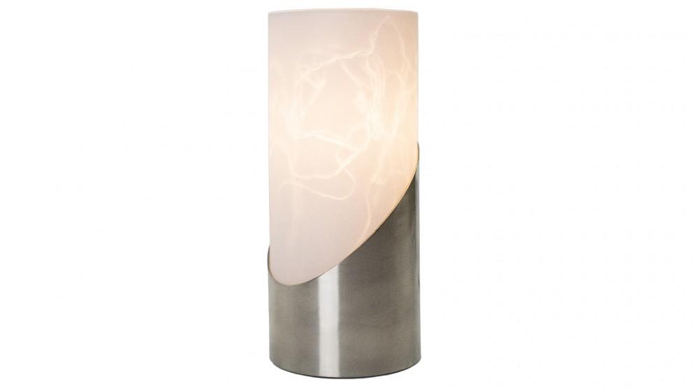 Lexi Lighting Marc Table Lamp - Satin Chrome