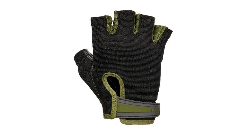 Harbinger Green Power Gloves - Medium
