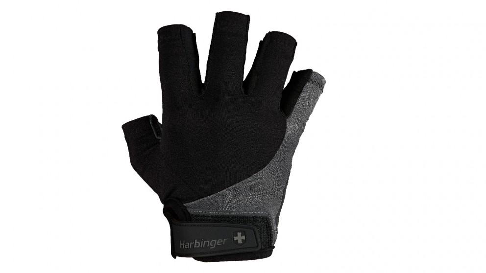 Harbinger Grey Bio-Flex Elite Gloves - Large