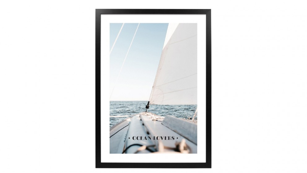 Profile Products Framed Art - Oceans Lovers Club 1 - 63x93 cm
