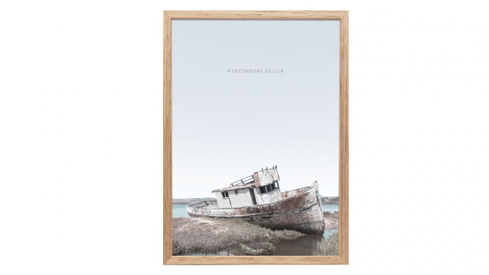 Profile Products Framed Art - Sailors Life 1 - 50x70 cm