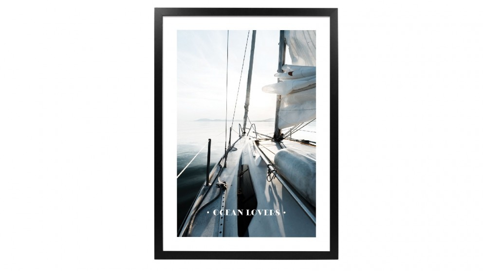 Profile Products Framed Art - Oceans Lovers Club 3 - 63x93 cm