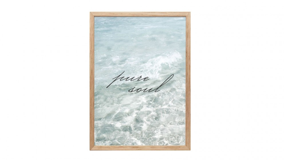 Profile Products Framed Art - Fresh Water 1 - 50x100 cm