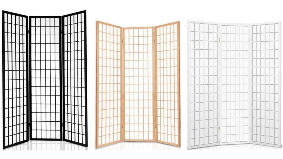 Artiss 3 Panel Wooden Room Divider