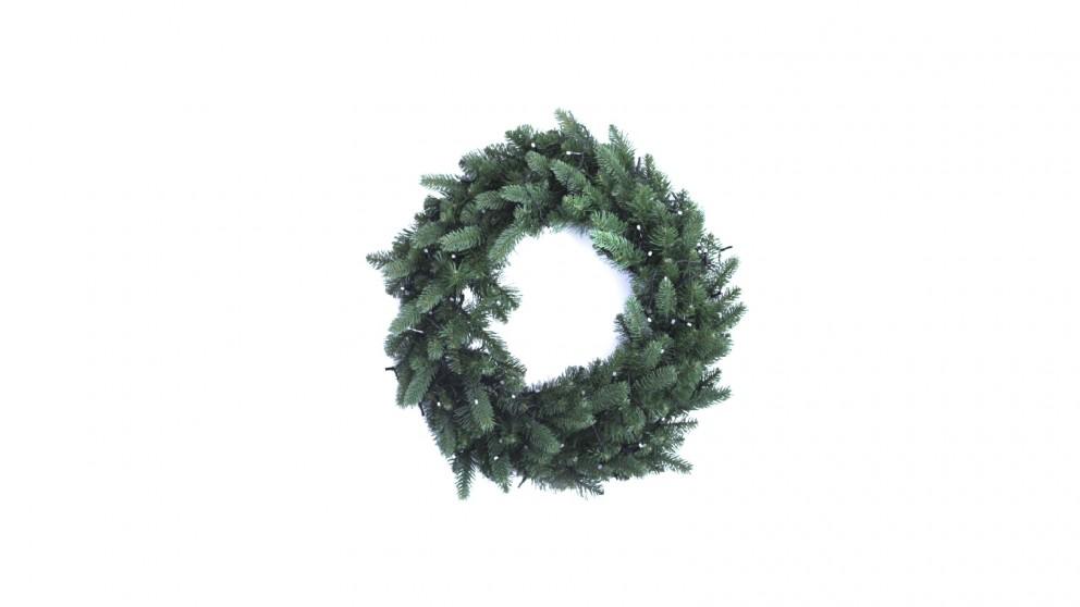 Twinkly Pre-lit Wreath 50 RGB+W LED String - Generation II
