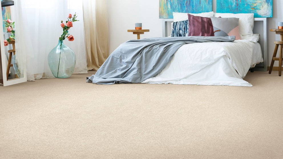 Smartstrand Silk Reserve Astonishing Softness Ivory Luster Carpet Flooring