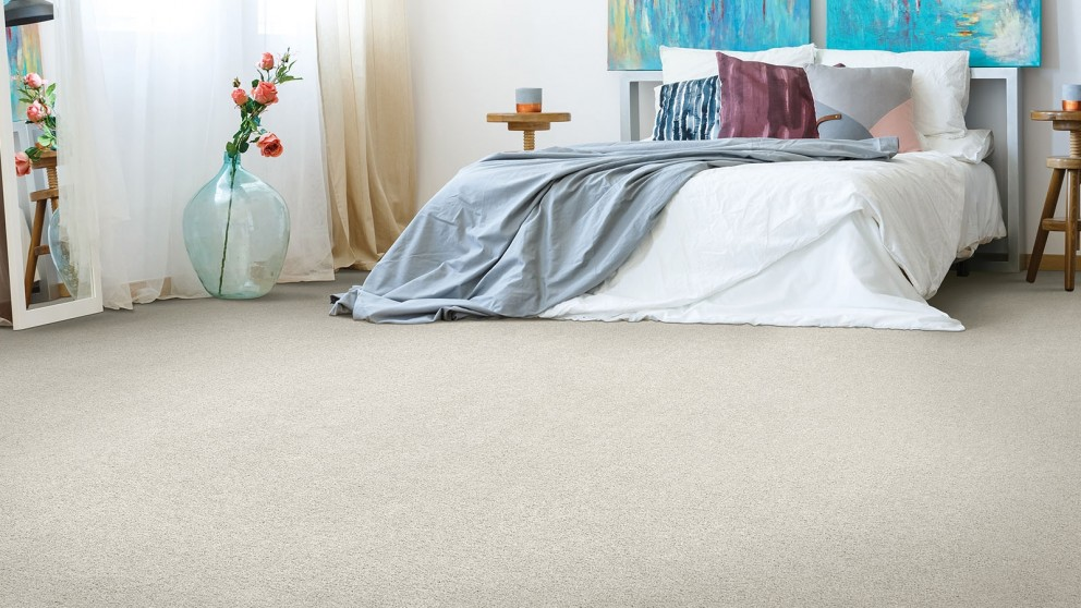 Smartstrand Silk Reserve Astonishing Softness Linen Lace Carpet Flooring