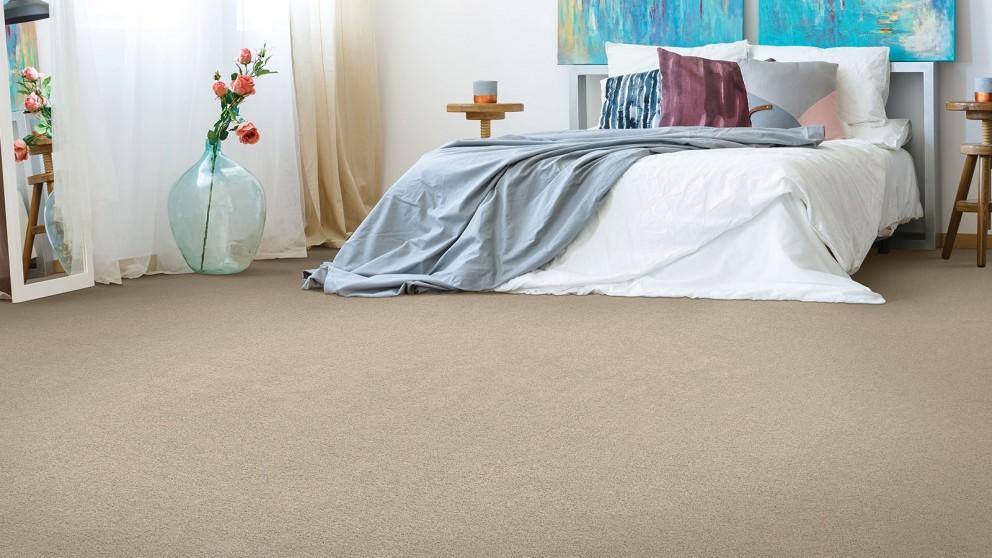 Smartstrand Silk Reserve Astonishing Softness Victorian Beige Carpet Flooring