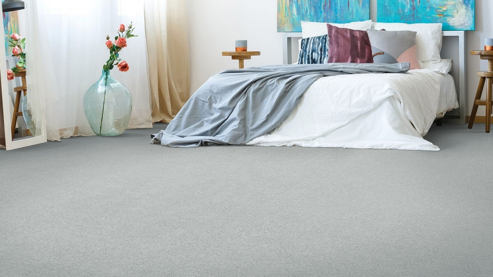 Smartstrand Silk Reserve Astonishing Softness Winter Ash Carpet Flooring