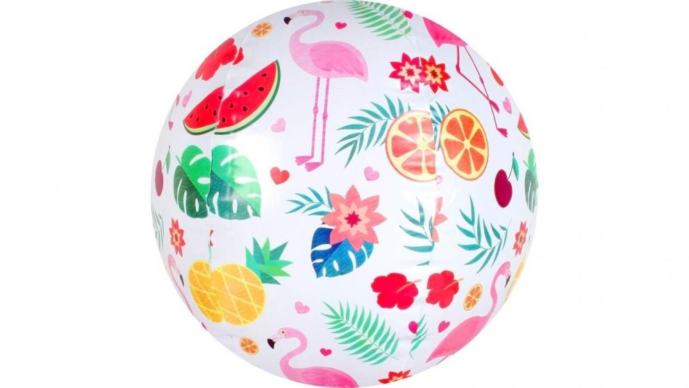 Airtime Kids Beach Ball - Flamingo Paradise