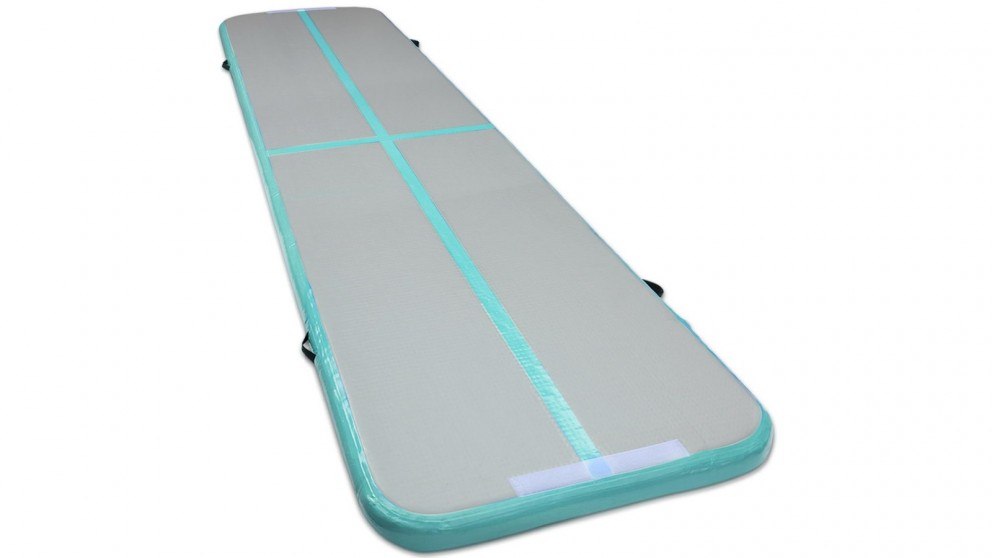 Everfit Inflatable Air Track Mat 4m x 100cm - Green
