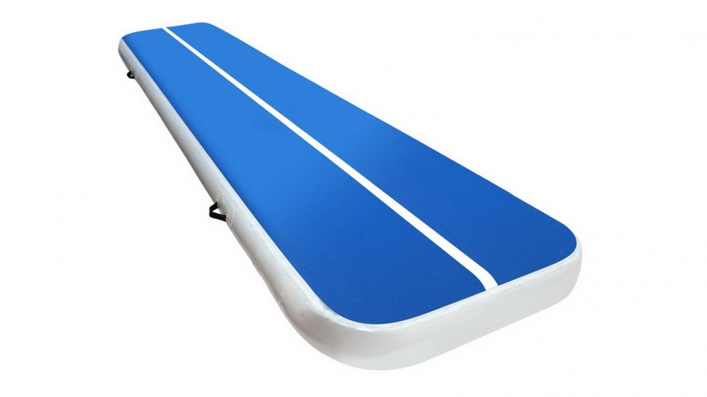 Everfit 4x1m Inflatable Air Track Mat - Blue/White