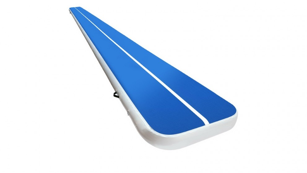 Everfit 8x1m Inflatable Gymnastics Track Mat - Blue