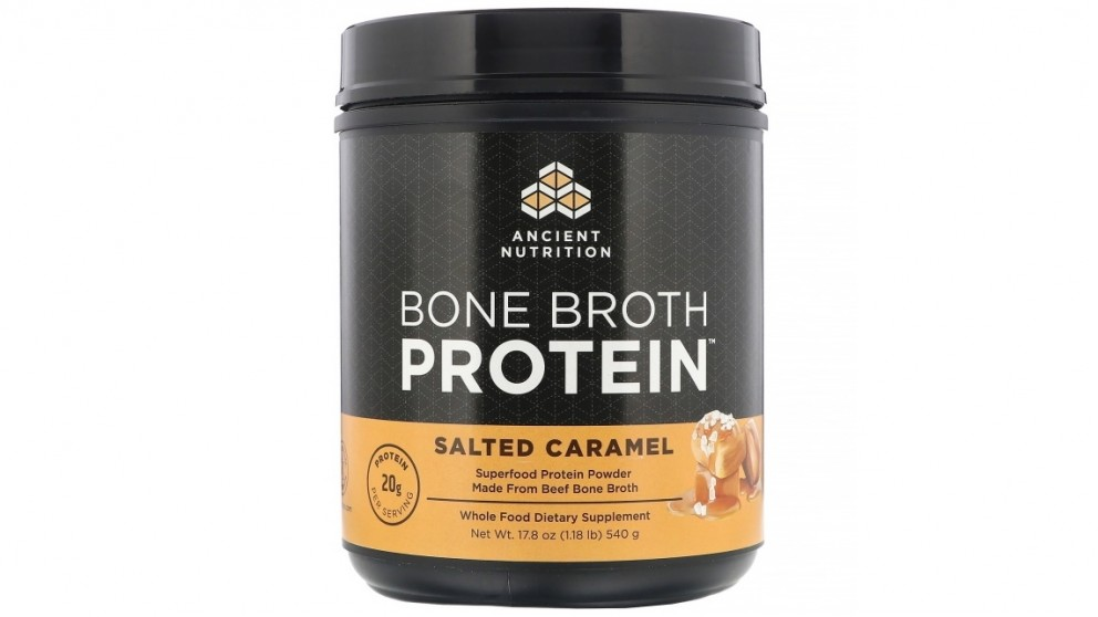 Dr. Axe  Bone Broth Protein Salted Caramel - 540g