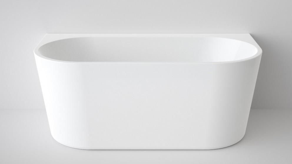 Caroma Aura 1400mm Back to Wall Freestanding Bath