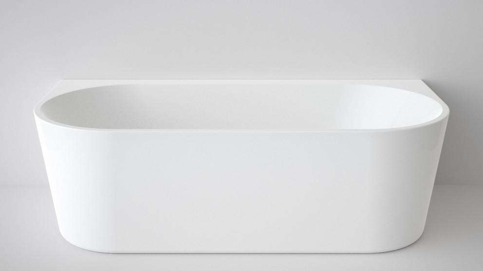 Caroma Aura 1800mm Back to Wall Freestanding Bath
