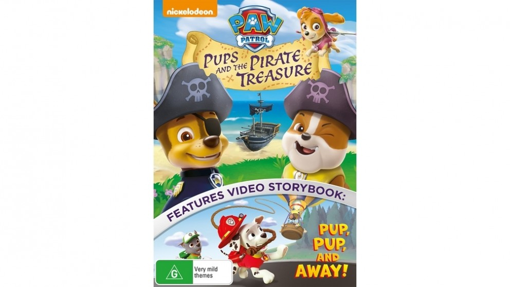 PAW Patrol: Pups and the Pirate Treasure - DVD