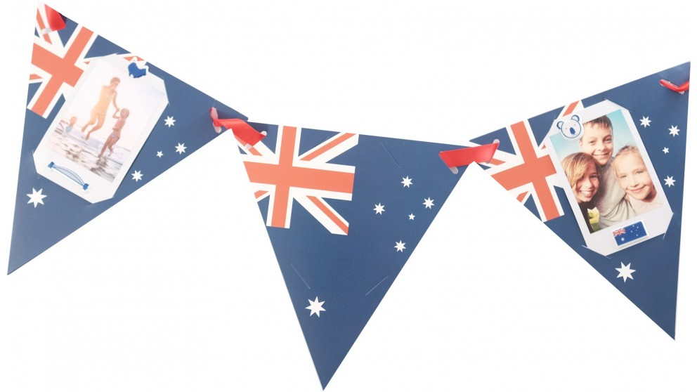 Instax Photo Bunting - Australia Day