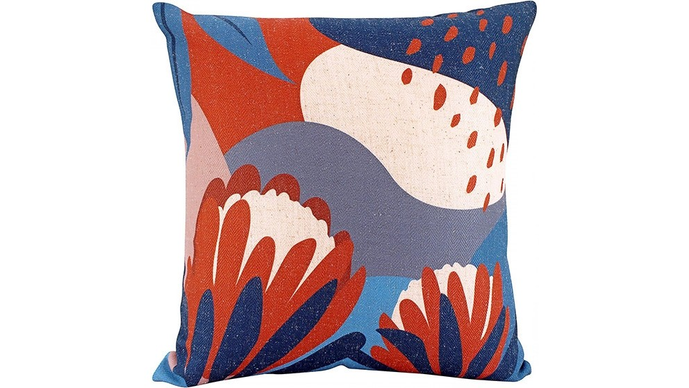 Aussie Abstract Linen Cushion