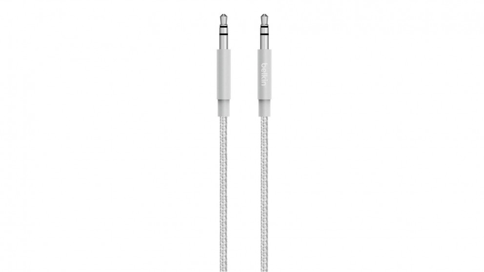 Belkin MIXIT 3.5mm Audio Cable - SIlver