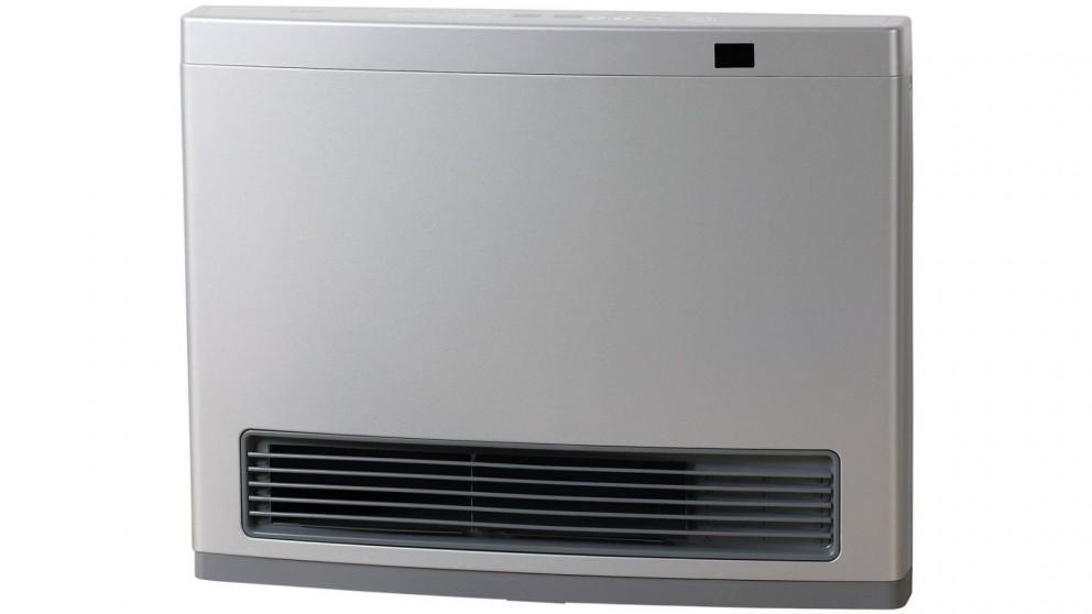 Rinnai Avenger 25 Unflued Gas Convector Heater with 3m Hose - Platinum Silver