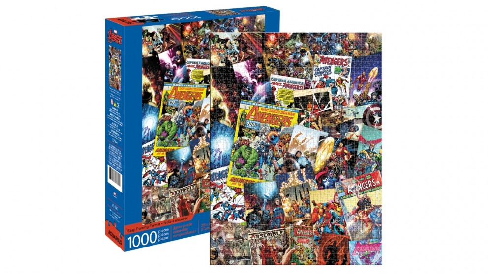 Avengers Collage 1000 Pieces Puzzle