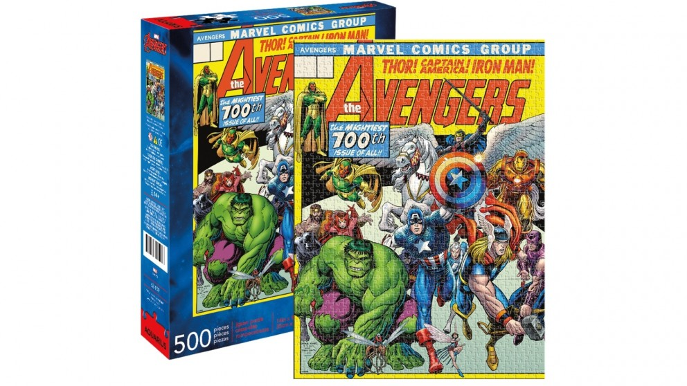Avengers Cover 500 Pieces Puzzle