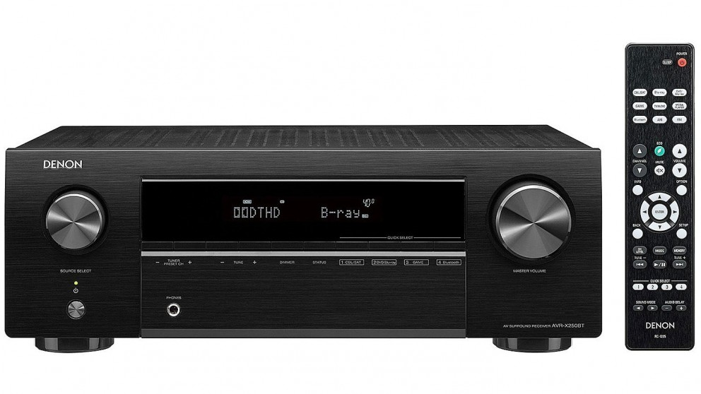 Cheap Denon AVRX250 51 Channel 4K Ultra HD AV Receiver With Bluetooth