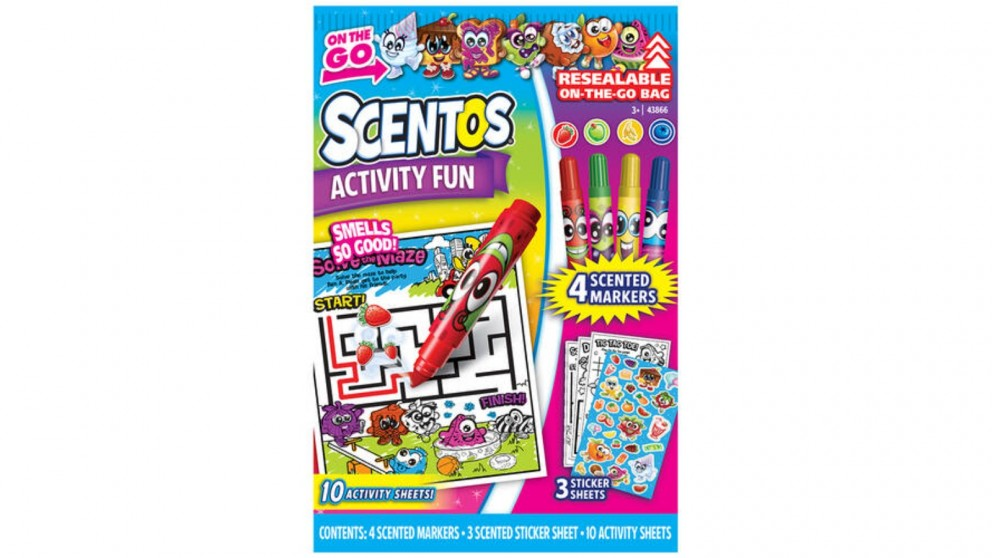 Scentos On the Go Activity Fun Pack