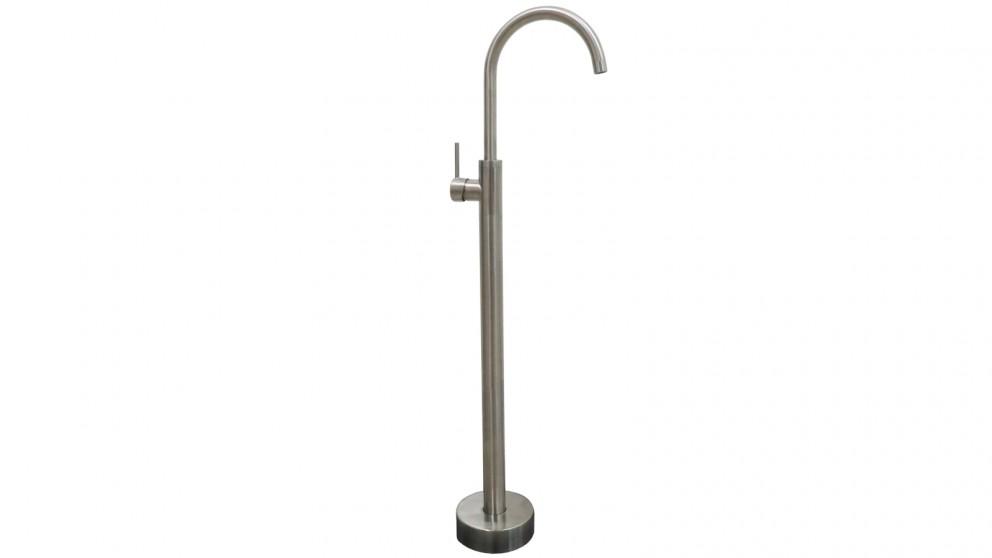 Arcisan Axus Pin Lever Free Standing Bath Mixer - Satin Nikel PVD