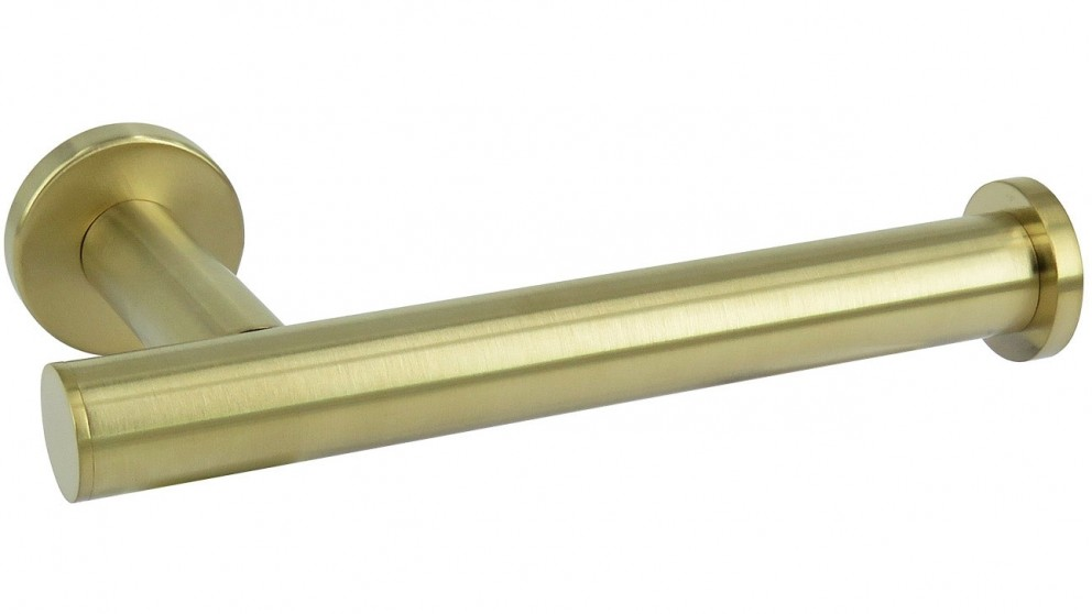 Arcisan Axus Toilet Roll Holder - Brushed Brass PVD
