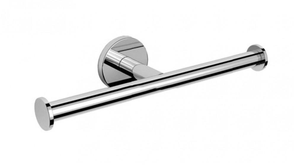 Arcisan Axus Double Toilet Roll Holder - Chrome