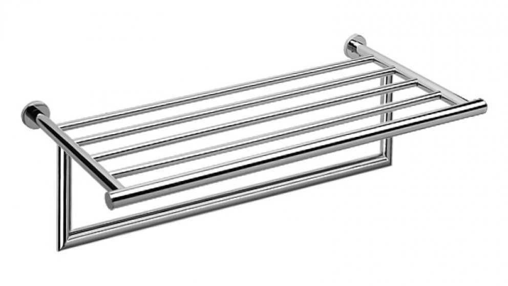 Arcisan Axus Towel Rack with Rail - Chrome