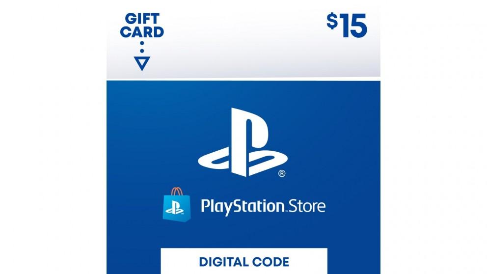 Sony PlayStation Network Digital Gift Card - $15