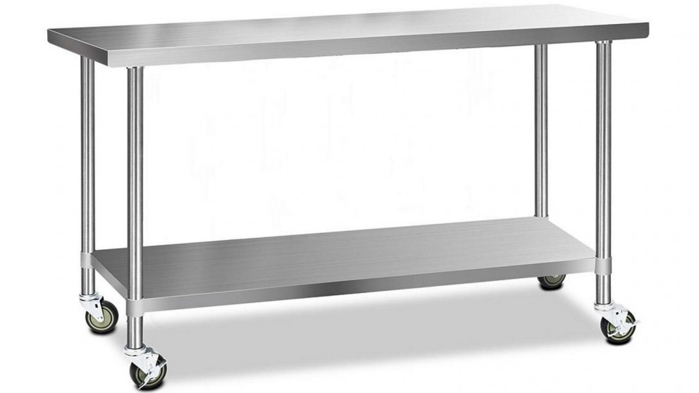 Buy Cefito 304 Stainless Steel Work Bench Table with ...