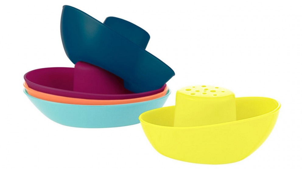 Boon 5-Piece Fleet Stacking Boats Cup Set