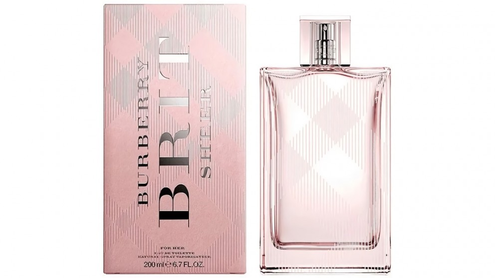 Brit Sheer by Burberry (200ml) EDT Spray for Woman