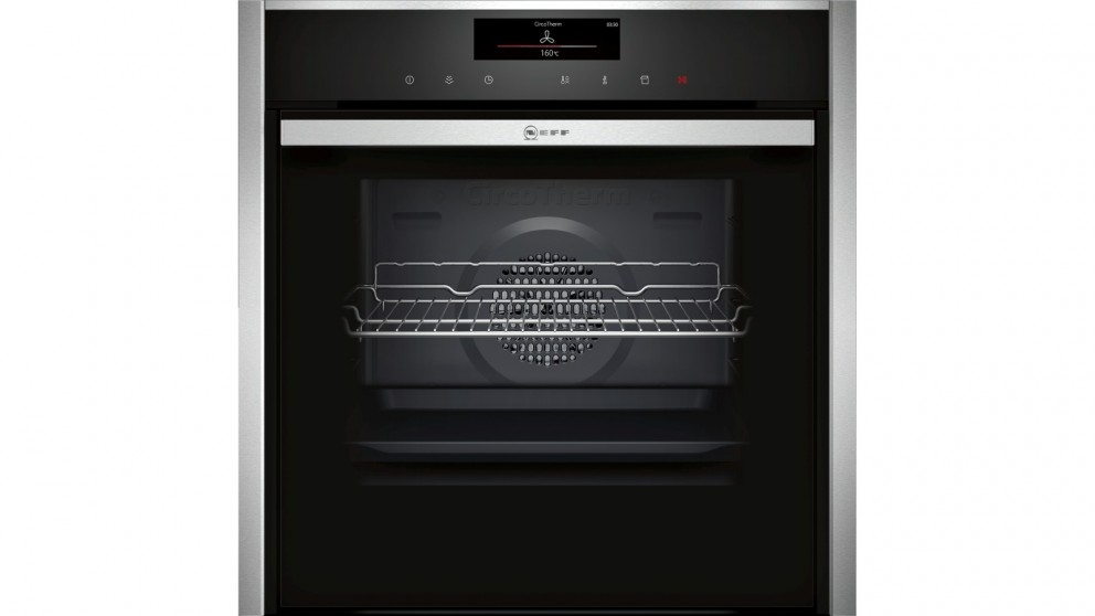 NEFF 60cm Slide and Hide Built-in Oven with FullSteam