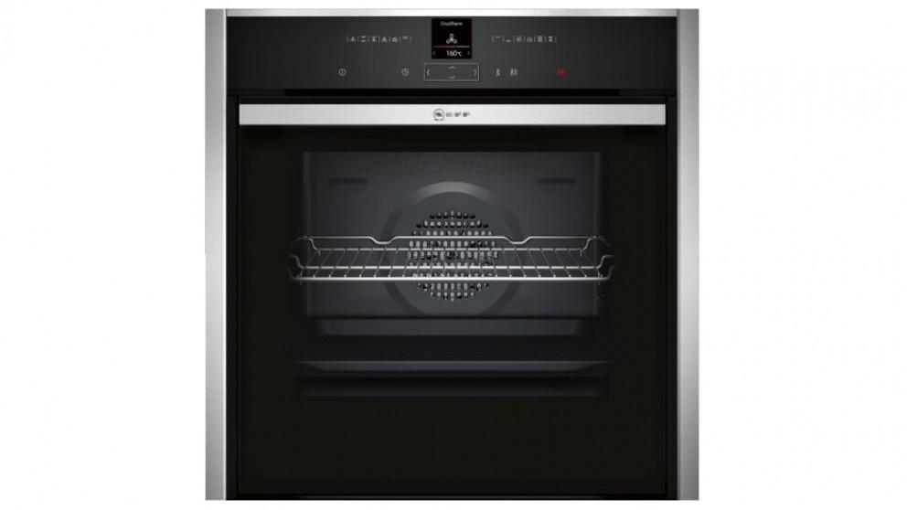 buy neff 600mm pyrolytic slide hide oven harvey norman au. Black Bedroom Furniture Sets. Home Design Ideas