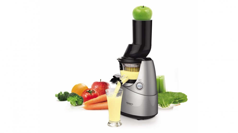 Slow Juicer Vs Whole Fruit : Buy Kuvings Whole Fruit Slow Juicer - Silver Harvey Norman AU