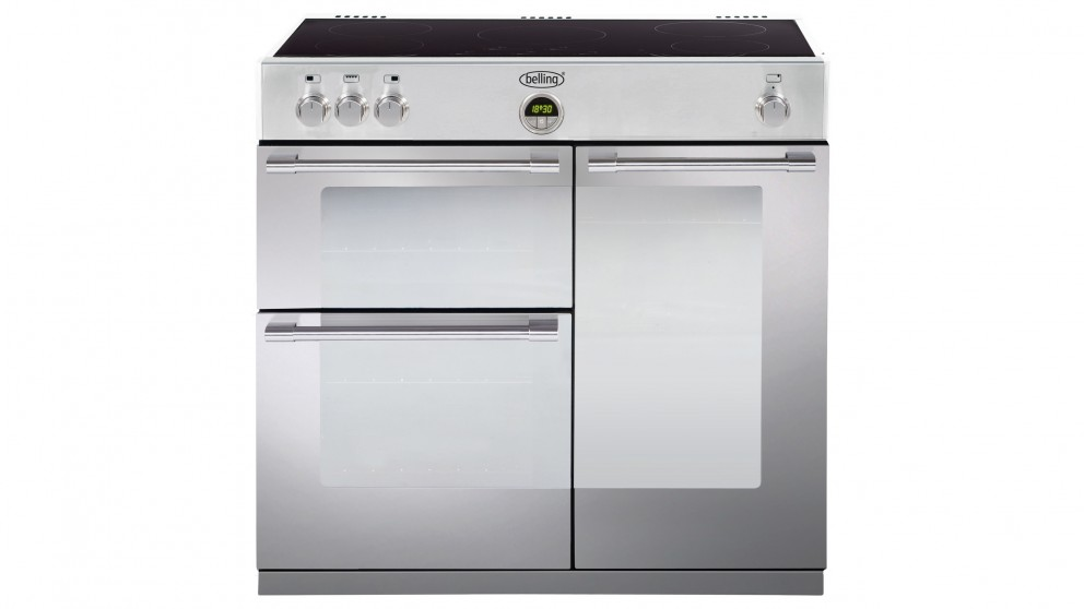 Belling Sterling 900mm Stainless Steel Freestanding Induction Cooker
