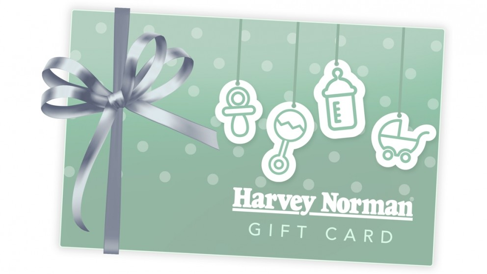 buy harvey norman 20 e gift card baby green harvey norman au. Black Bedroom Furniture Sets. Home Design Ideas