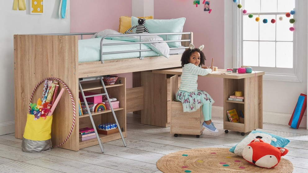 Kids Bedroom Harvey Norman bailey single mini sleeper bed - kids beds & suites | harvey