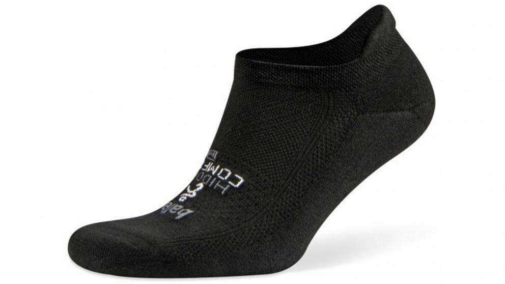 Balega Hidden Comfort No Show Black Socks - Extra Large