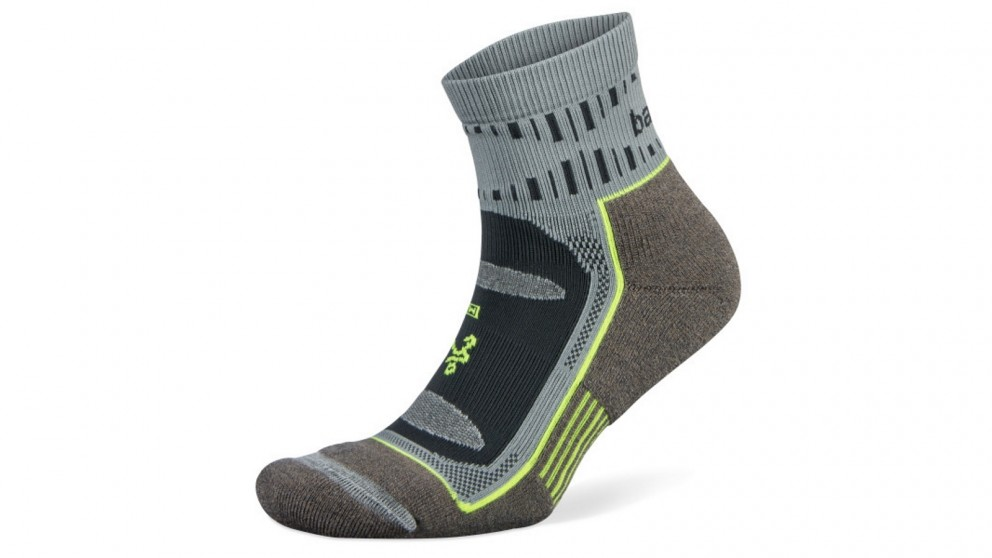 Balega X-Large Blister Resist Quarter Socks - Mink/Grey