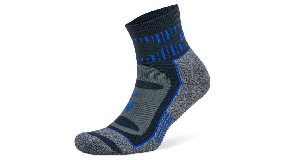 Balega Large Blister Resist Quarter Socks - Ink/Cobalt